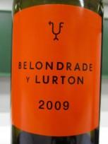 Belondrade Y Lurton Verdejo Barrica 2009